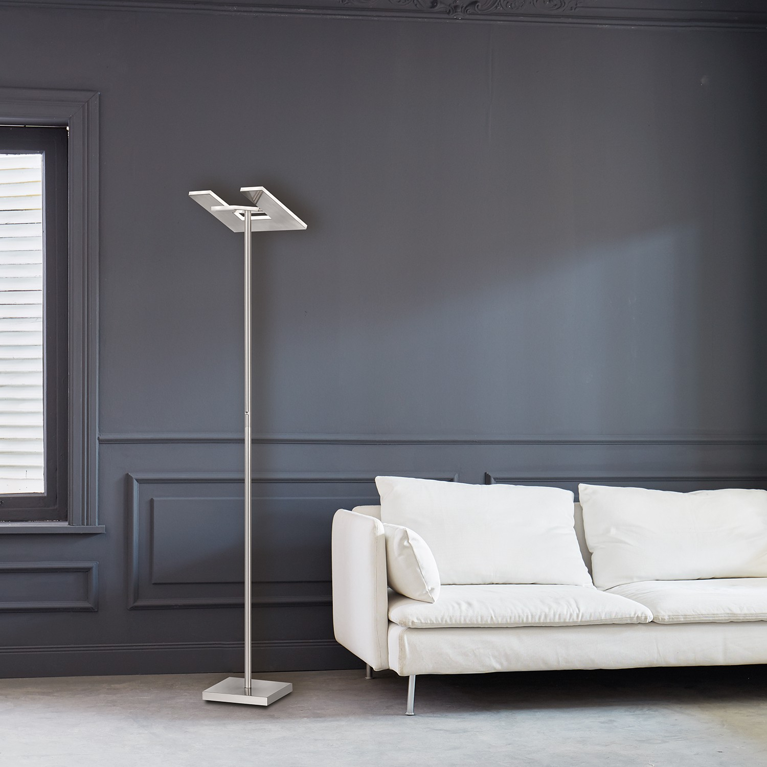 home24 LED-Stehleuchte Foulbec