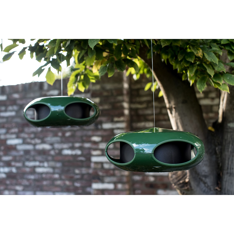 Koziol Pi:p voederhuisje donker groen online kopen