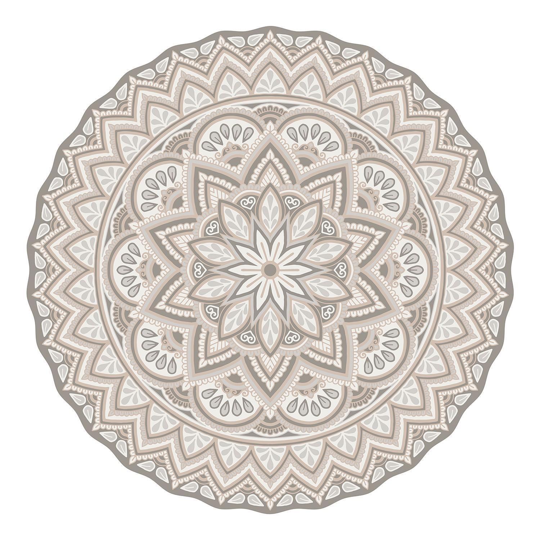 Home24 Tafelset Mandala II (set van 4), Contento