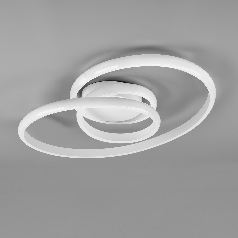 home24 LED-Deckenleuchte Sansa II