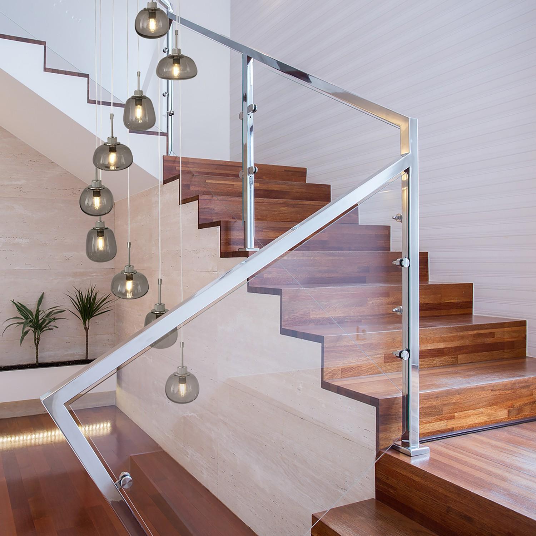 home24 LED-Pendelleuchte Bollique II