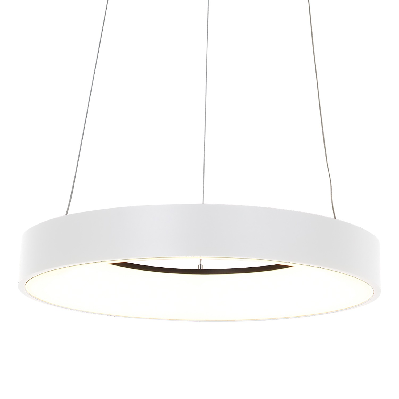 home24 LED-Pendelleuchte Ringlede