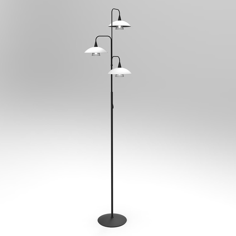 home24 LED-Stehleuchte Tallerken II