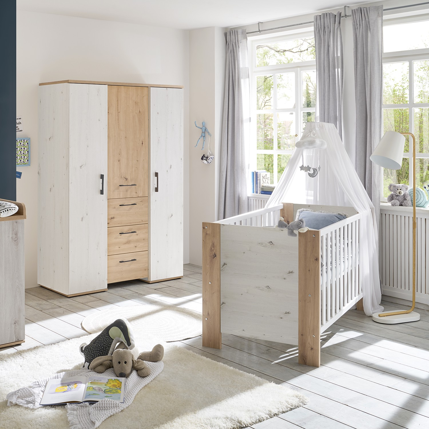 Home24 Babybed Micha, Kids Club Collection