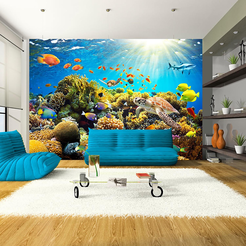 Papier peint en intissé Underwater Land