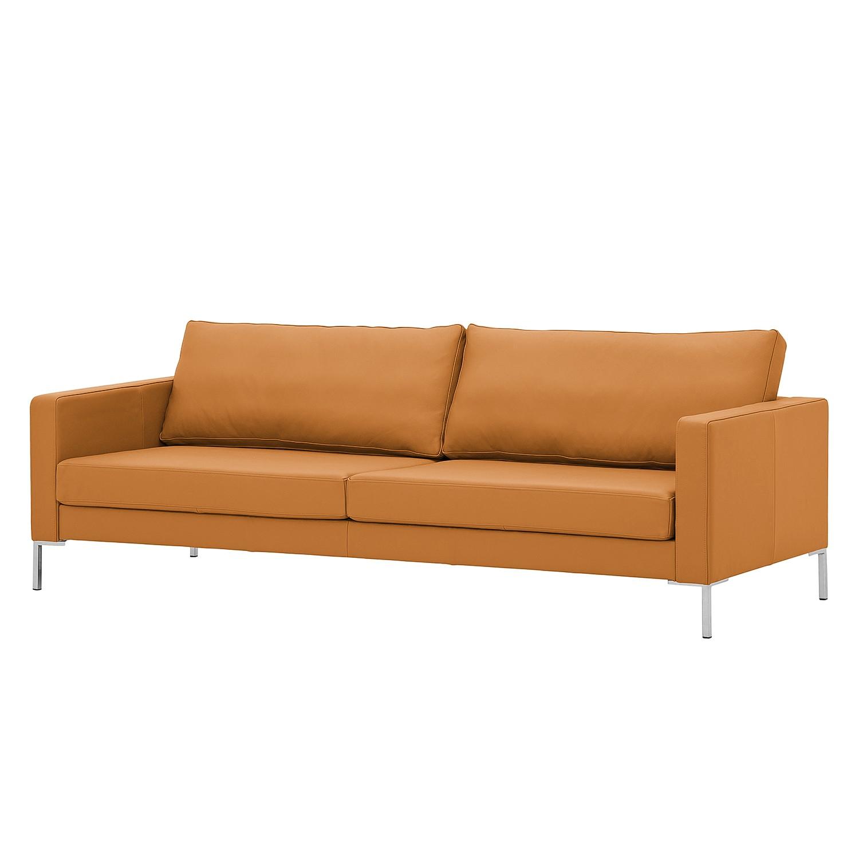 home24 Sofa Portobello (3-Sitzer) Echtleder