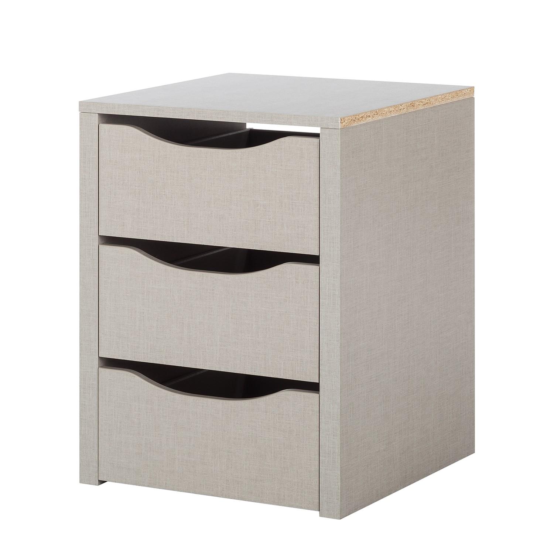 goedkoop Ladeblok Quadra 3 lades geschikt voor kastelementen met een breedte van 45 66 en 90cm Rauch Packs