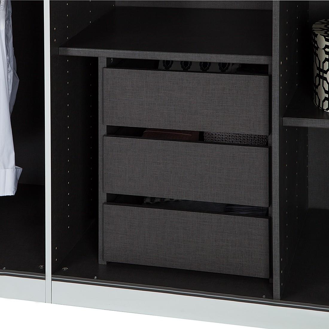 innenschubkasten k che k che wei hochglanz arbeitsplatte grau stiftung warentest mischbatterie. Black Bedroom Furniture Sets. Home Design Ideas