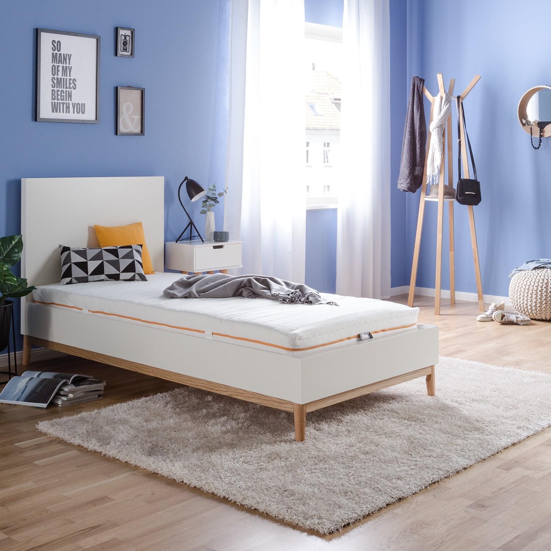 Schlafzimmermöbel - 7-Zonen Tonnentaschenfederkernmatratze - mazzy - Weiss