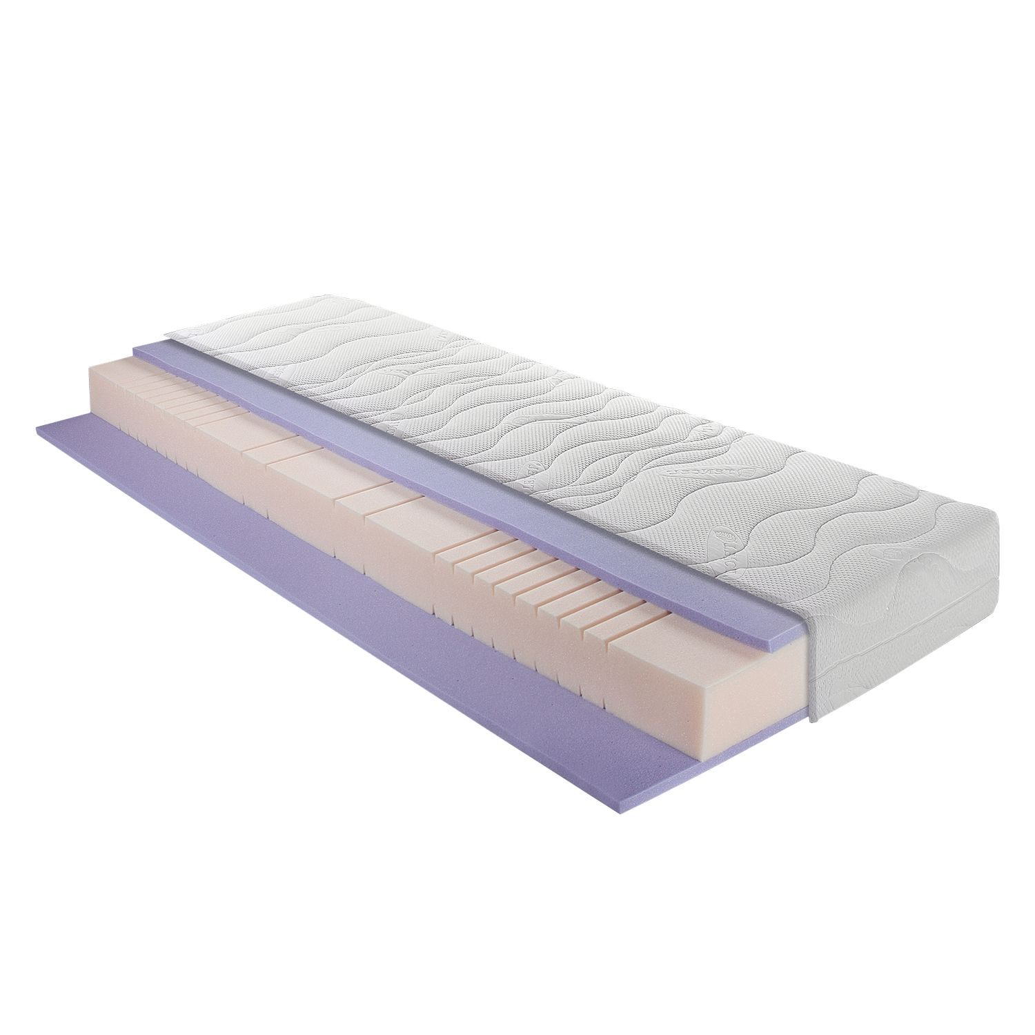 Materasso schiuma e gel Sleep Gel Basic, Breckle