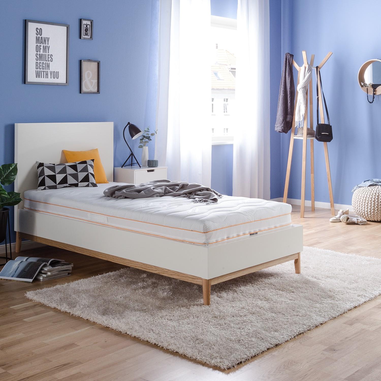 Schlafzimmermöbel - 7- Zonen Micro-Matratze - mazzy - Weiss