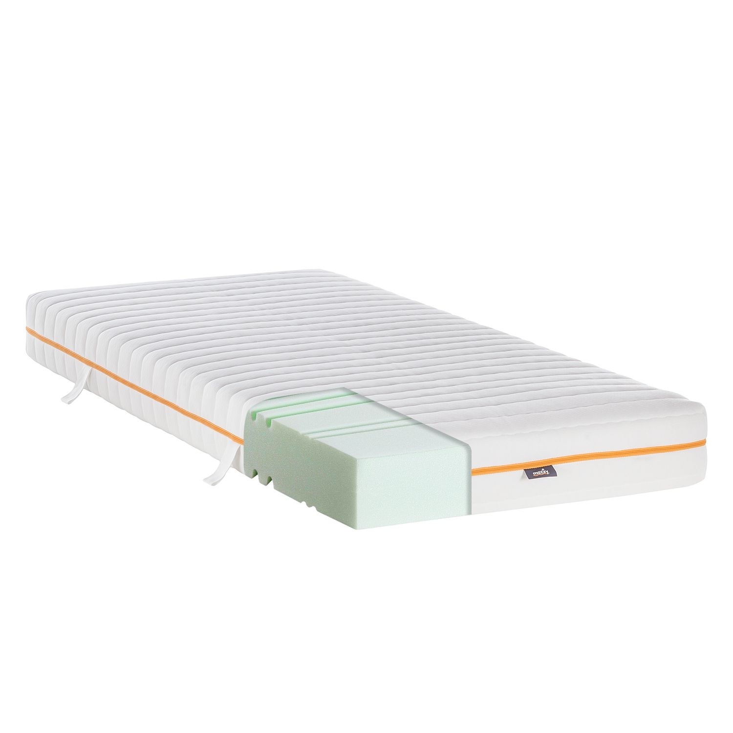 Matelas Mazzy Mousse froide - 80 x 200cm, mazzy