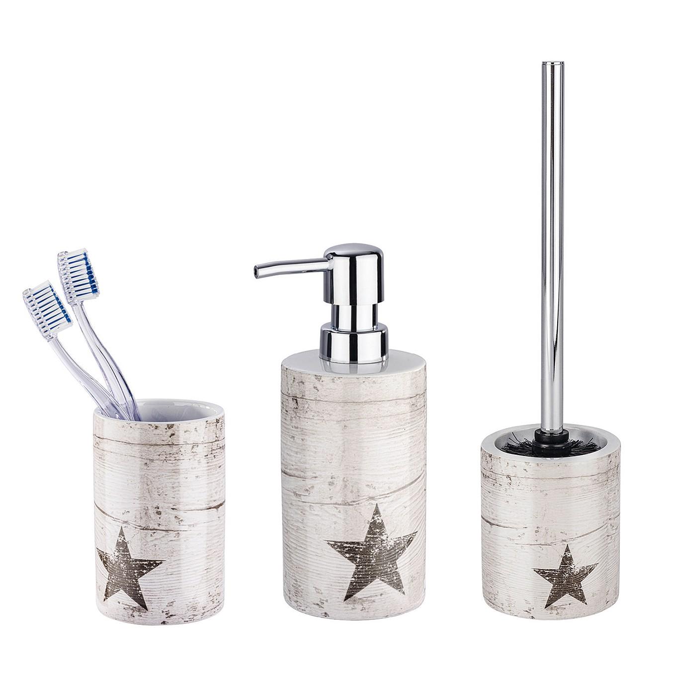 Home24 Set accessoires Star (3-delig), WENKO
