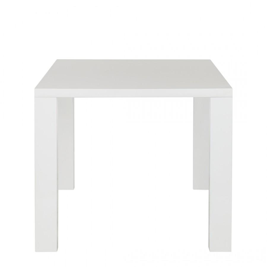 Tavolo da pranzo Acle II - Bianco lucido, Fredriks