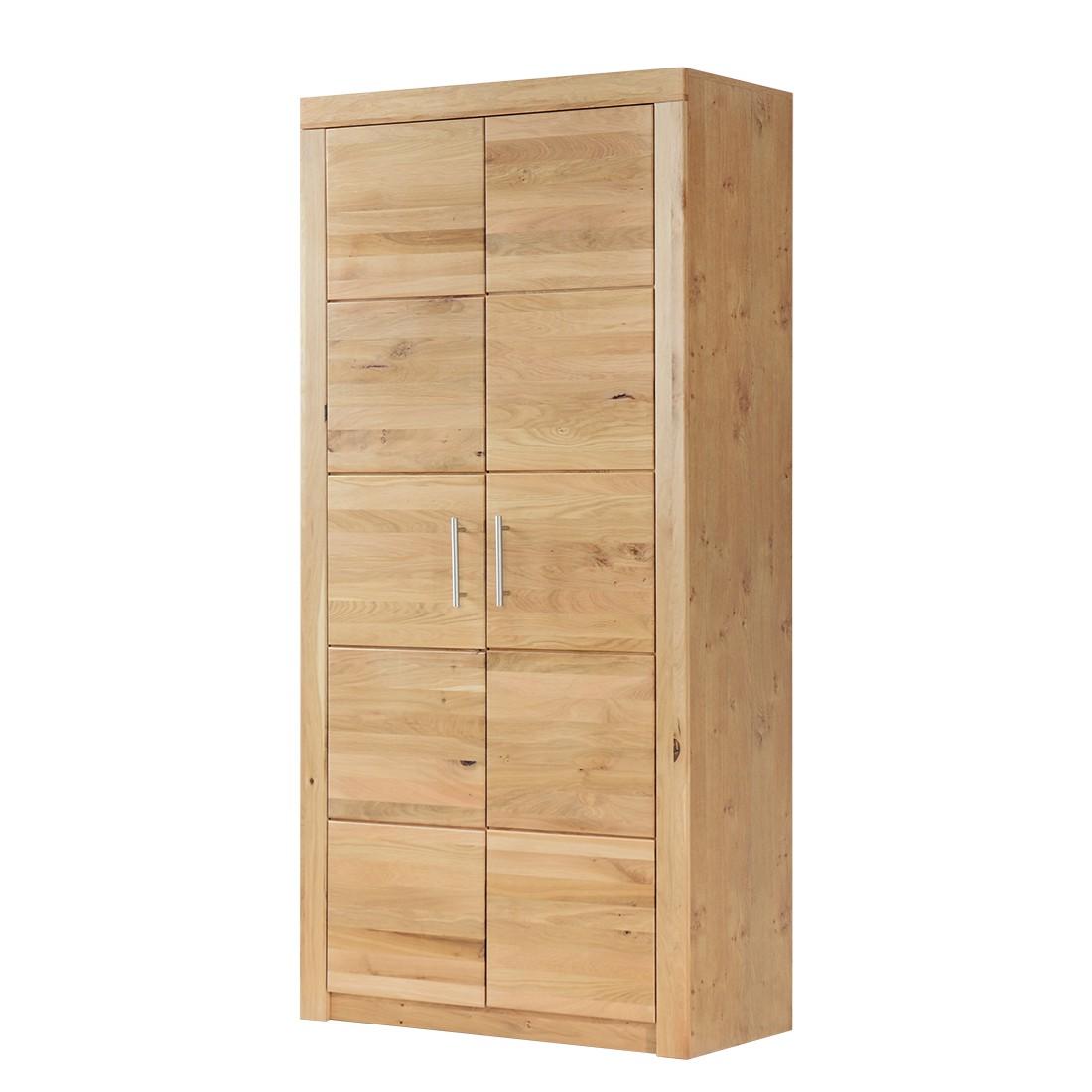 Armadio ufficio Achim II - Parzialmente in legno massello di quercia selvatica, home24 office