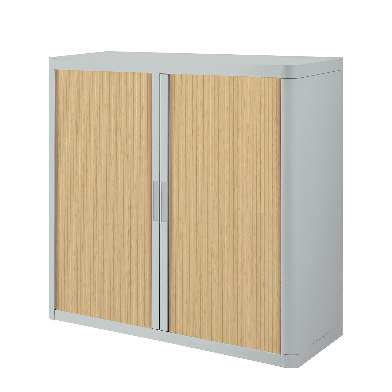 Armoire à dossiers easyOffice - Gris / Hêtre - 104 cm, easy Office und Paperflow