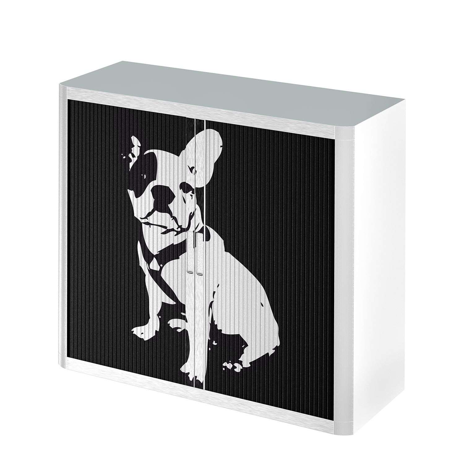 Rollladenschrank easyOffice Pop Art Dog