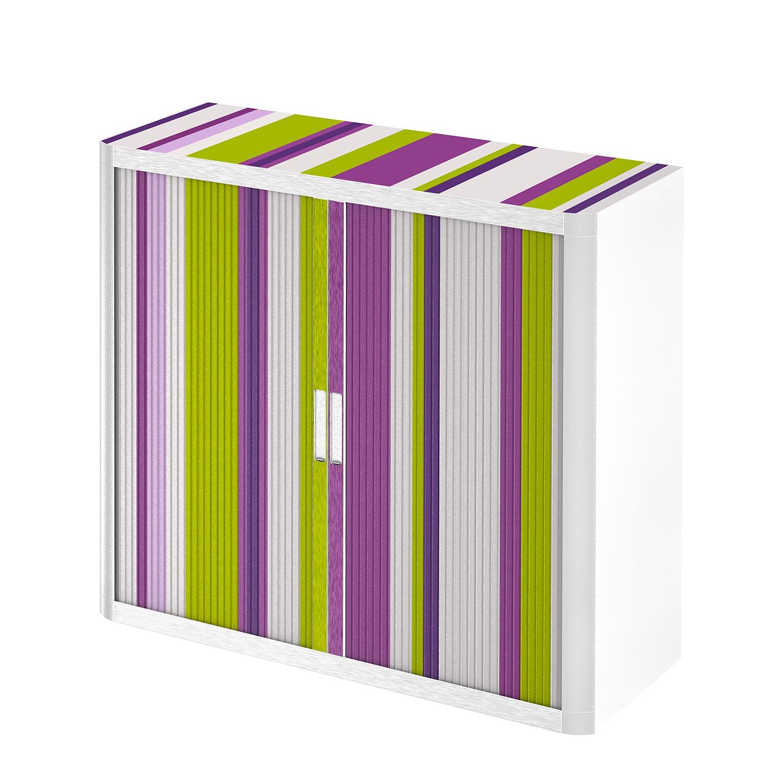 home24 Rollladenschrank easyOffice Rayures