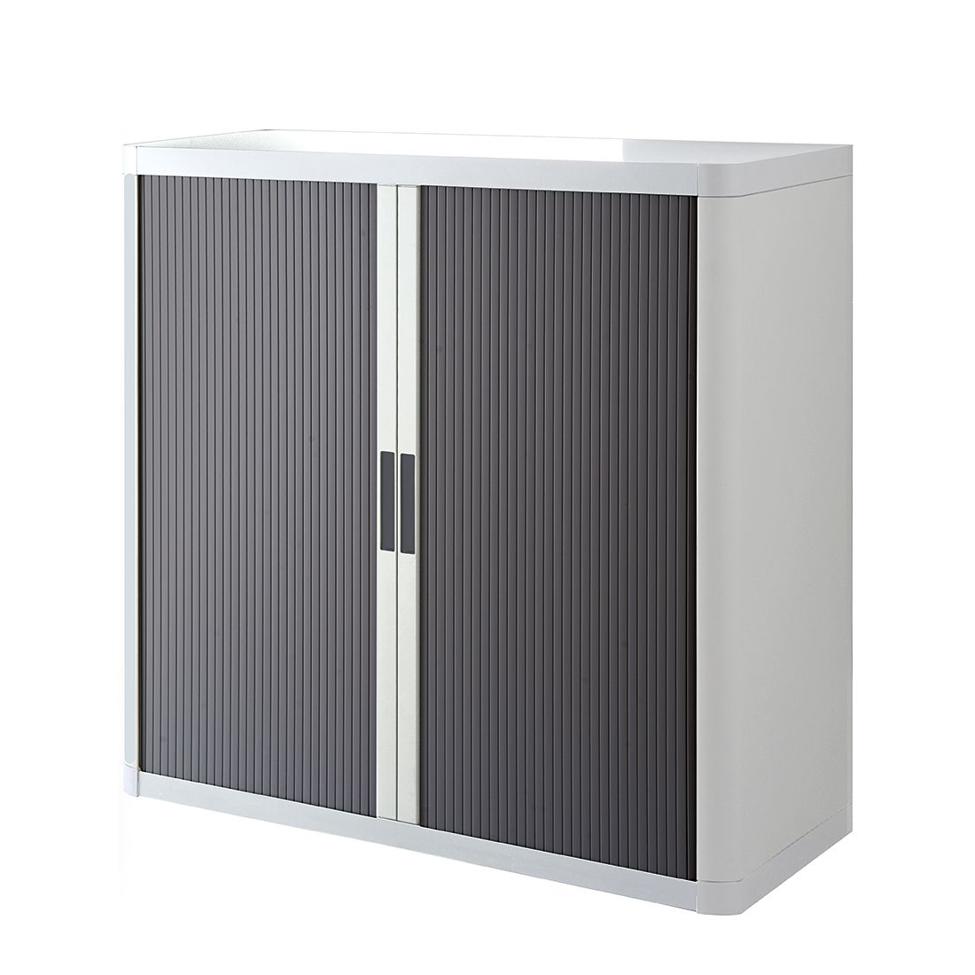 Armoire à dossiers easyOffice - Blanc / Gris - 104 cm, easy Office und Paperflow