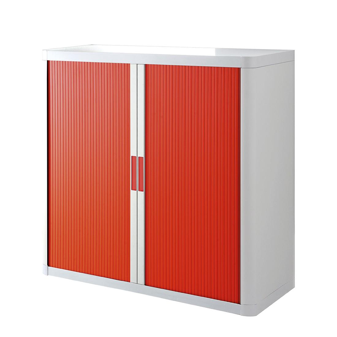 home24 Aktenschrank easyOffice | Büro > Büroschränke | Rot | Kunststoff | easyOffice by Paperflow