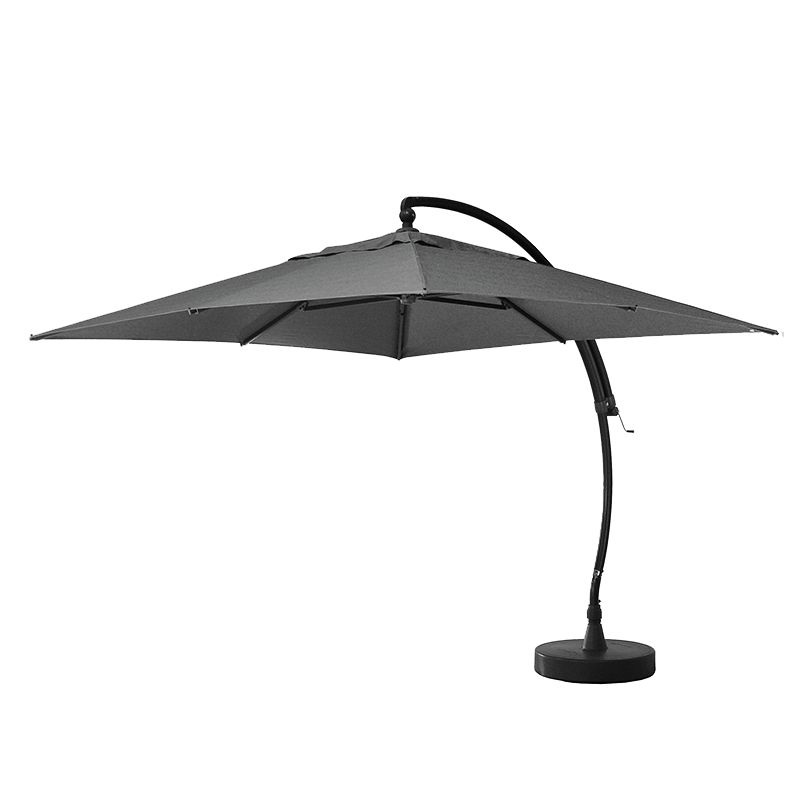 Sonnenschirm Easy Sun I - Aluminium / Webstoff - Grau, Sun Garden