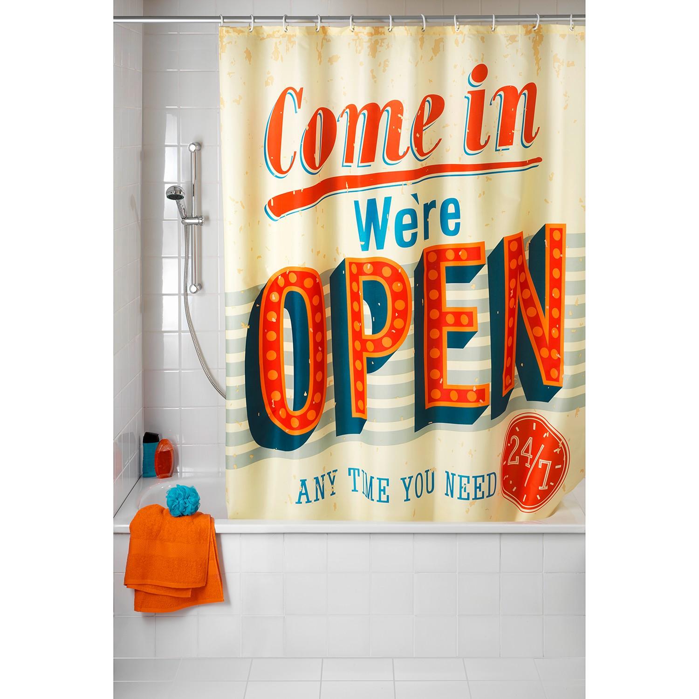 Duschvorhang Vintage Open, WENKO
