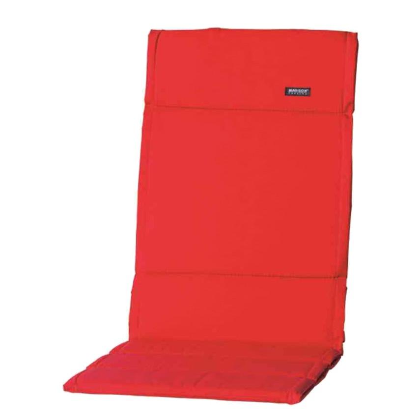 Auflage Panama II (für Hochlehner) - Webstoff - Rot, Madison