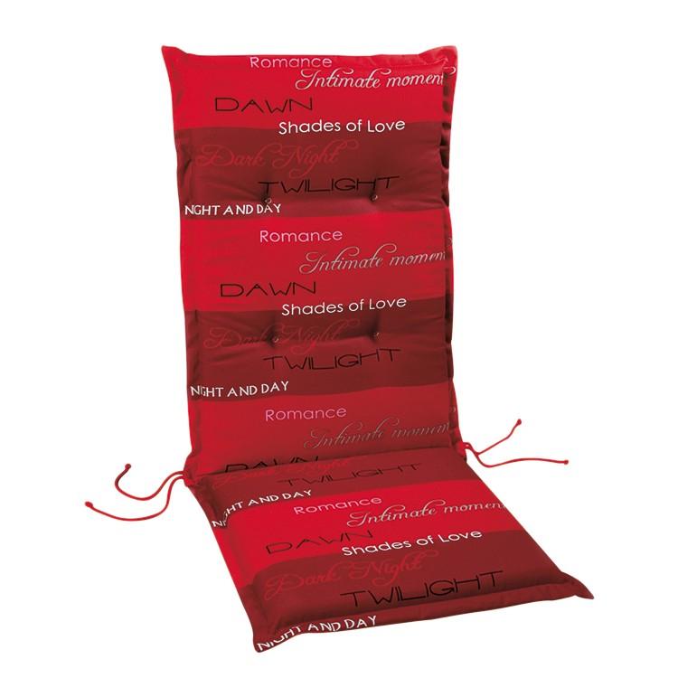 Auflage Selection Line - Rot gestreift - Gartenliege - 190 x 60 c bei Home24 - Sonderangebote