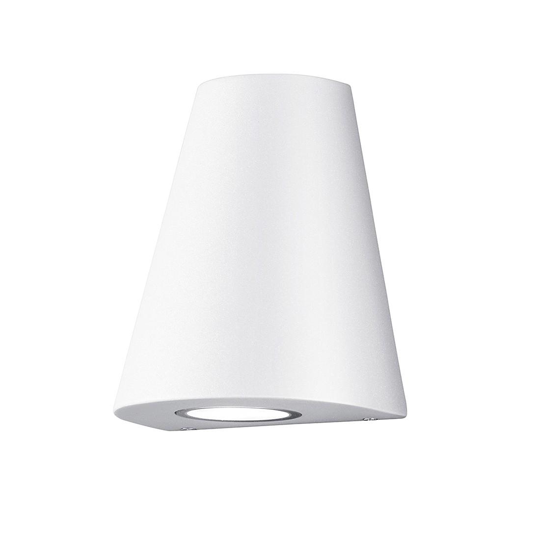 EEK A+, LED-Außenleuchte Niagara 4-flammig - Aluminium Kunststoff - Silber, Trio