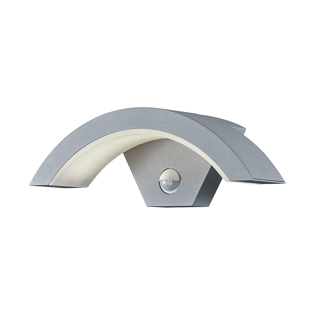 EEK A+, LED-Außenleuchte Ohio 1-flammig - Aluminium Kunststoff - Silber, Trio