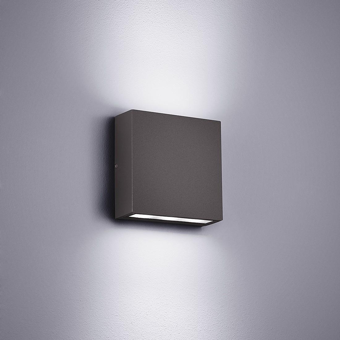 Super LED-Außenleuchte Thames - Aluminium / Kunststoff   home24 SI09