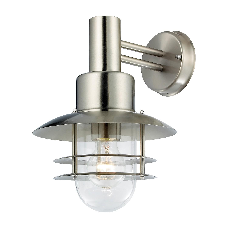energie A++, Buitenlamp Ferry metaal zilverkleurig 1 lichtbron, Action