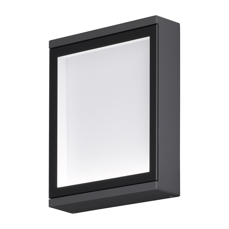 EEK A+, Außenleuchte Hall - Grau Kunststoff, Wofi