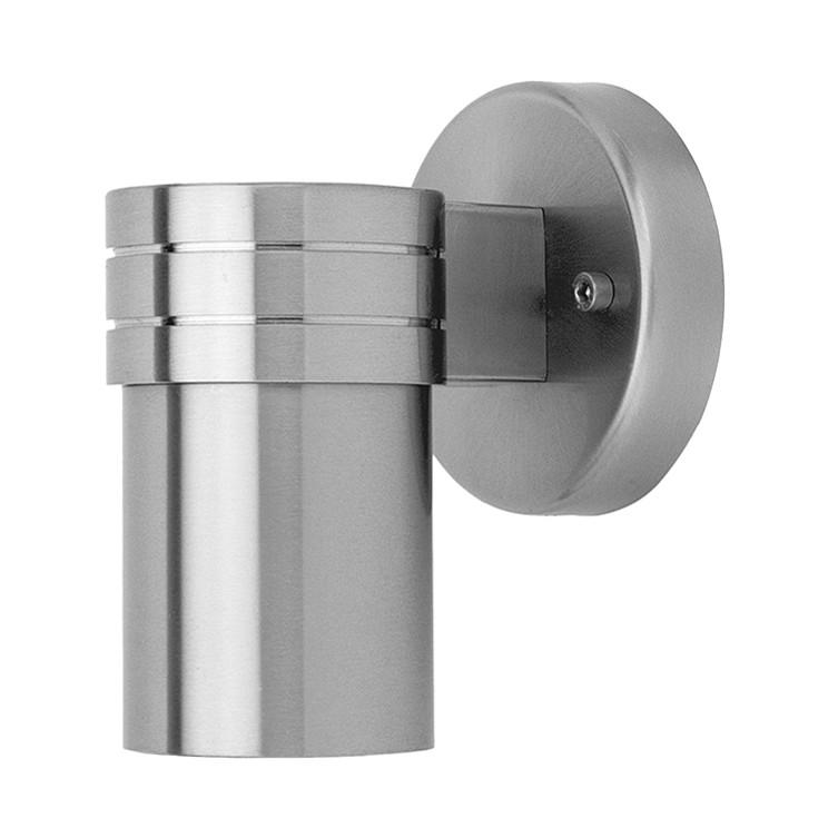 EEK A++, Außenleuchte Hanni - Metall - Silber - 1-flammig, Brilliant