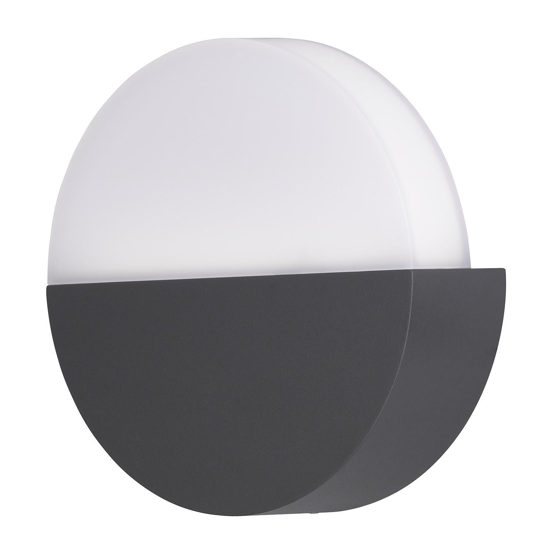 EEK A+, Außenleuchte Soho - Grau Kunststoff, Wofi