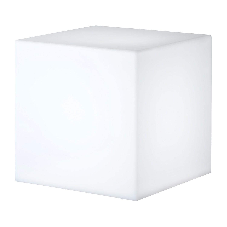 EEK A++, Außenleuchte Yard 1-flammig - Weiß Kunststoff, Wofi