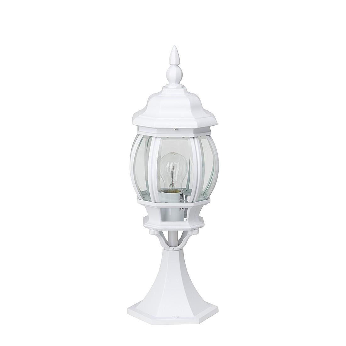 EEK A++, Außenleuchte Sally - Metall/Alu-Druckguss/Glas - Weiß  bei Home24 - Gartenmöbel