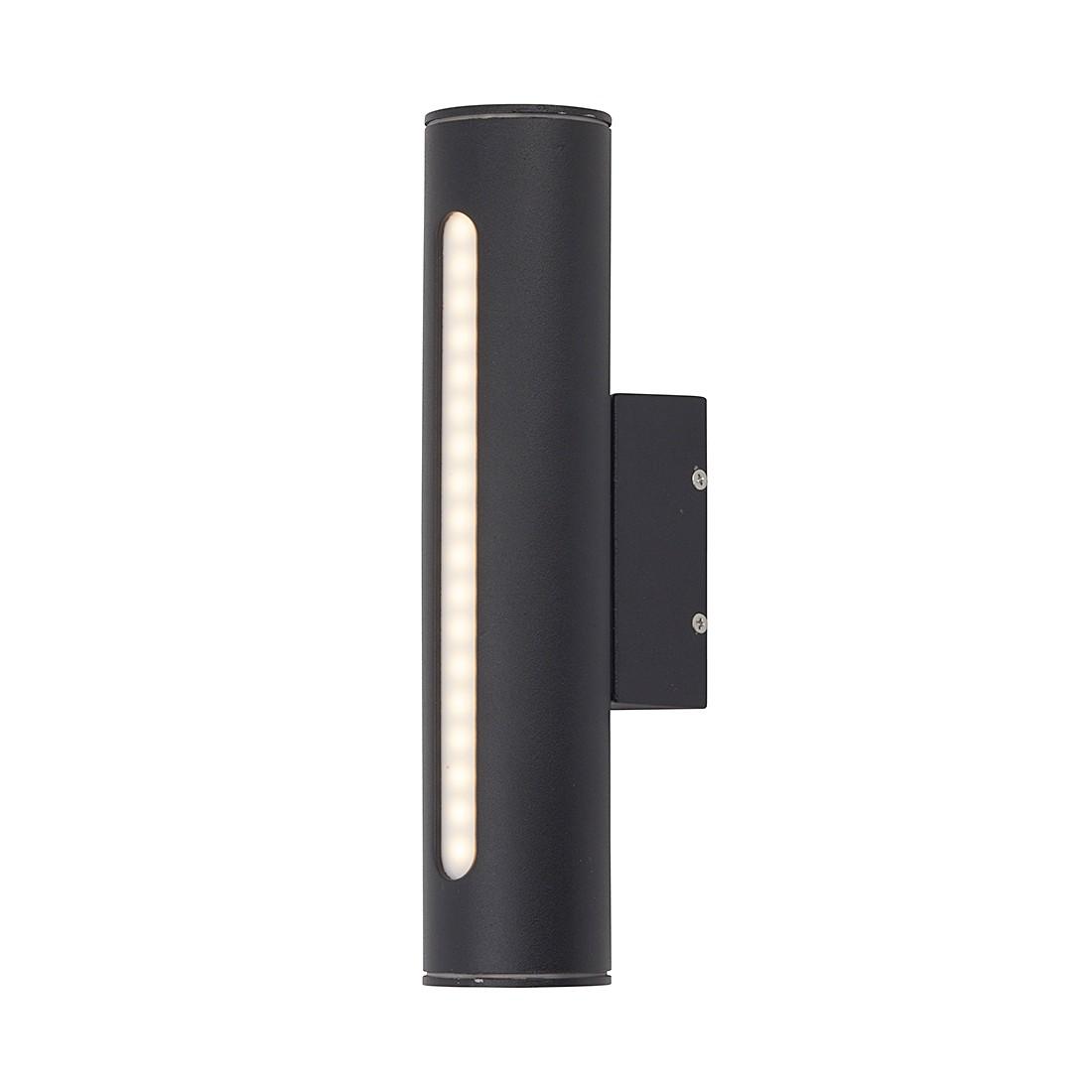 EEK A+, Außenleuchte Sally - Aluminium/Alu-Druckguss/Kunststoff - Schwarz - 1-flammig, Brilliant