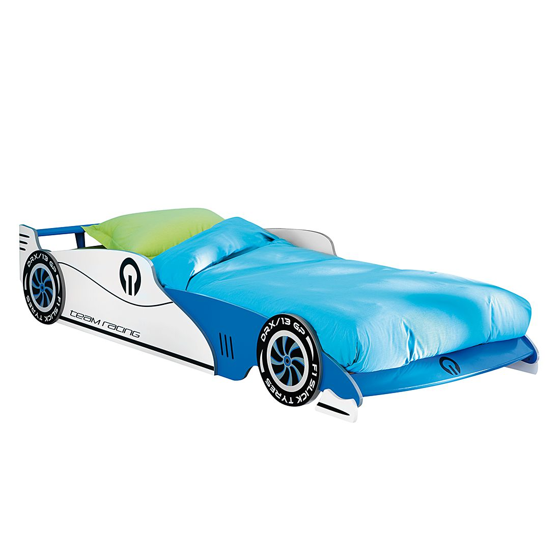 Autobed Grand Prix blauw, Kids Club Collection