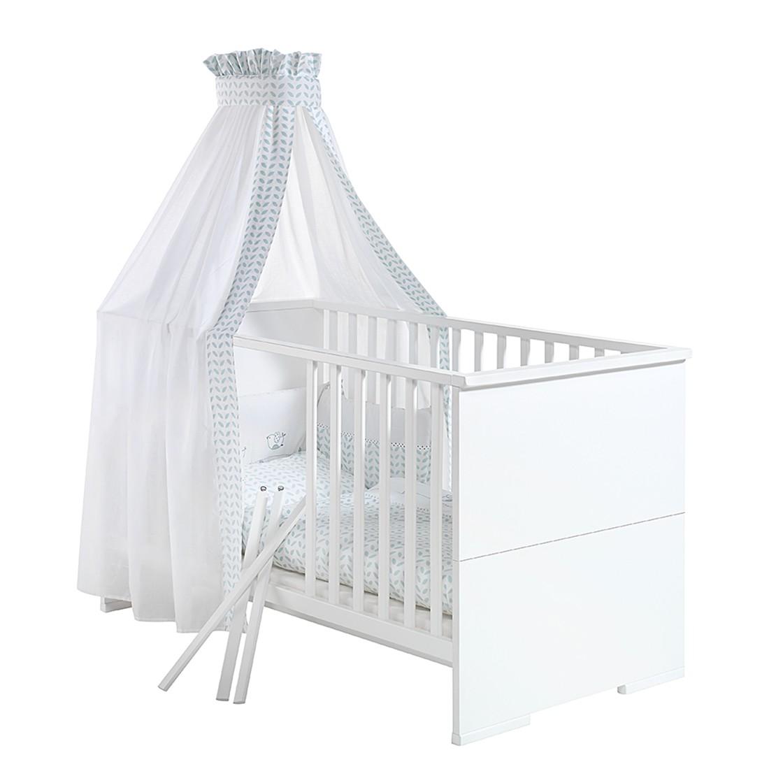 home24 Babybett Maximo | Kinderzimmer > Babymöbel > Babybetten & Babywiegen | Weiss | Holzwerkstoff | Schardt