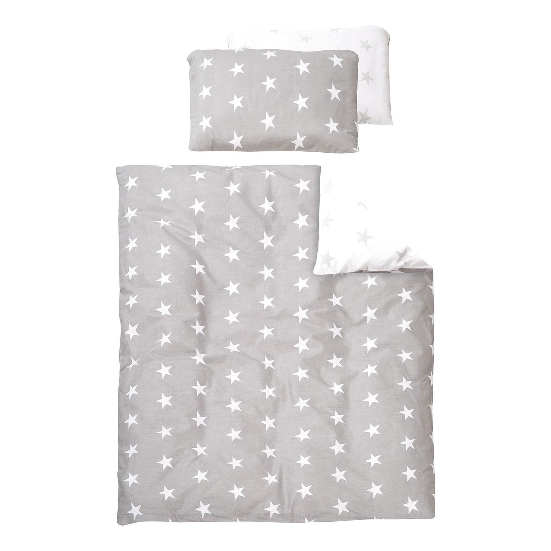 home24 Babybettwaesche Little Stars   Kinderzimmer > Babymöbel   Grau   Textil   Roba