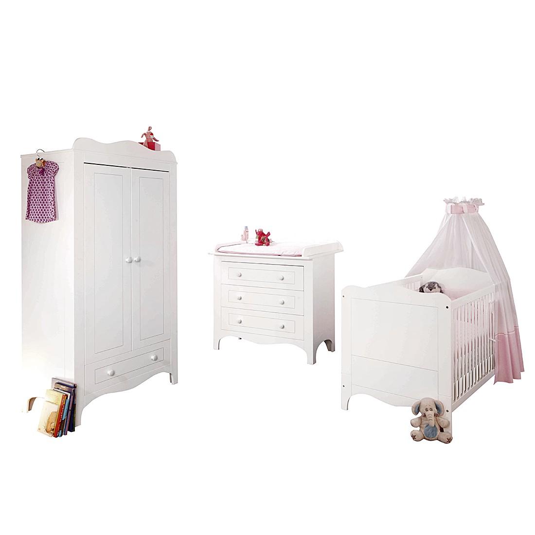 Chambre de bébé Fleur (3 éléments)