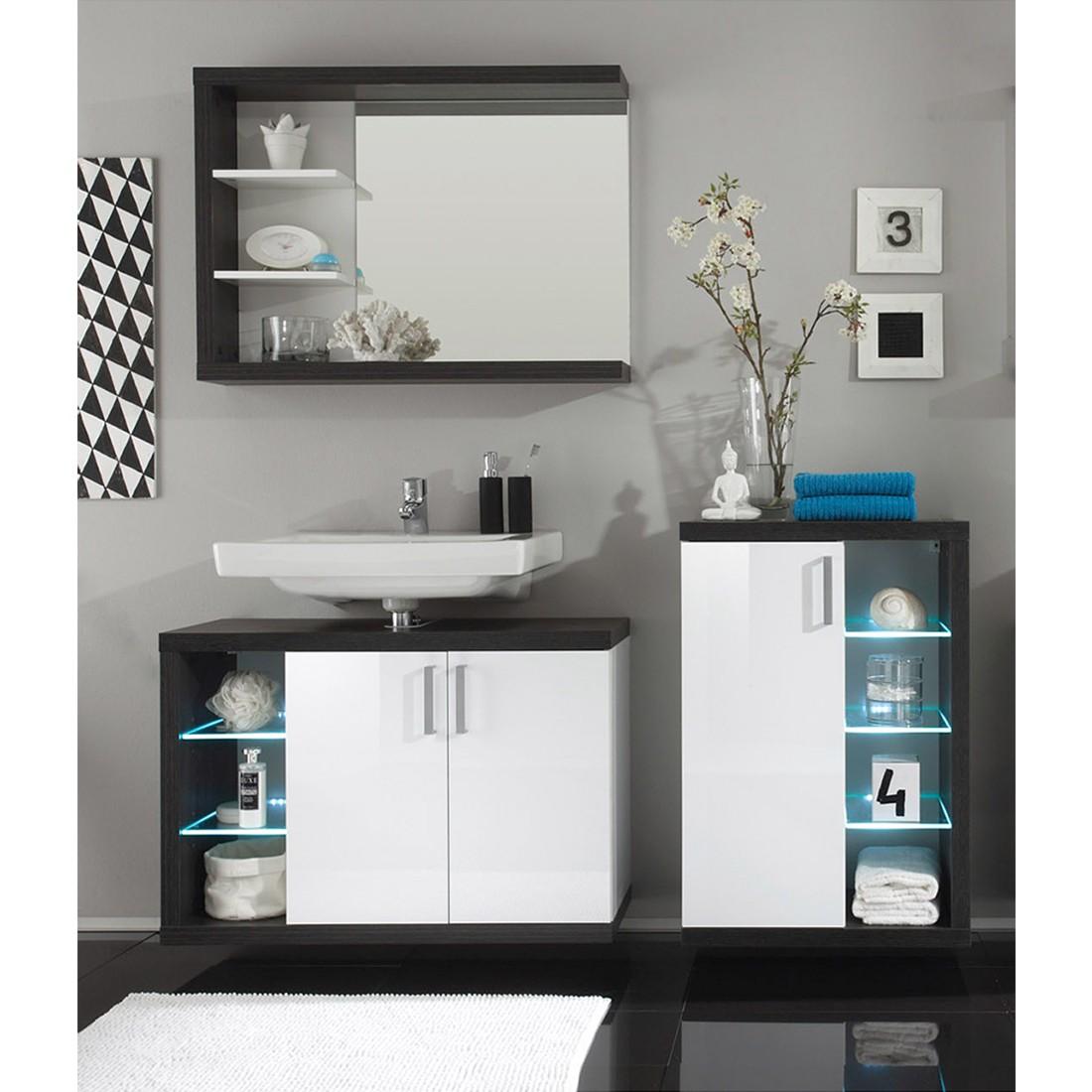 home24 Badezimmer-Set Fode (3-teilig)