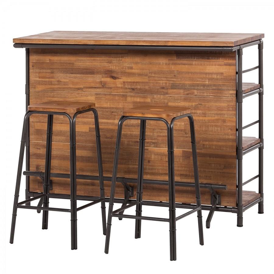 Braun Teilmassiv Bars Online Kaufen Möbel Suchmaschine