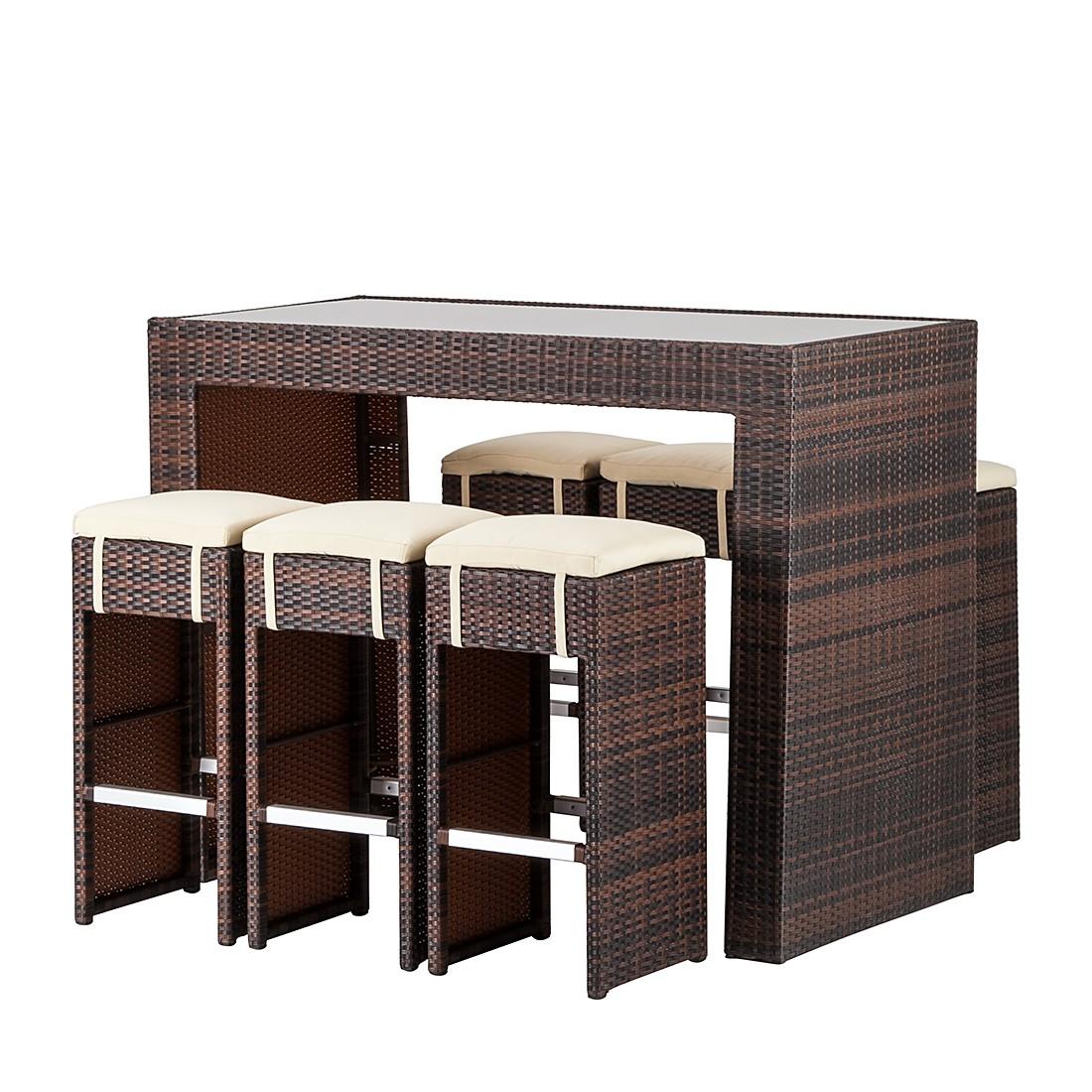 Gartenbar-Set Paradise Lounge (7-teilig)