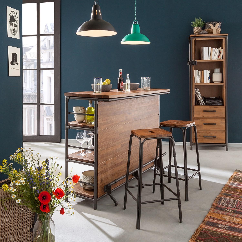 home24 Barhocker Atelier (2er-Set)