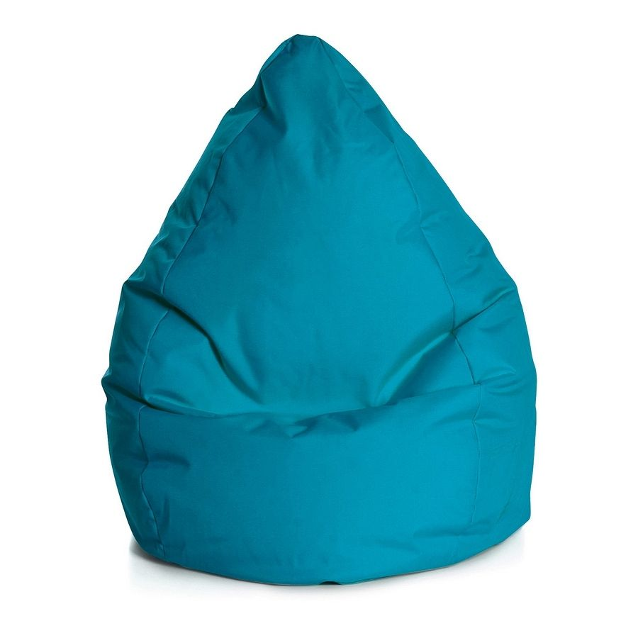 Sitzsack Bean Bag Brava - XL - Flachgewebe - Petrol, SITTING POINT