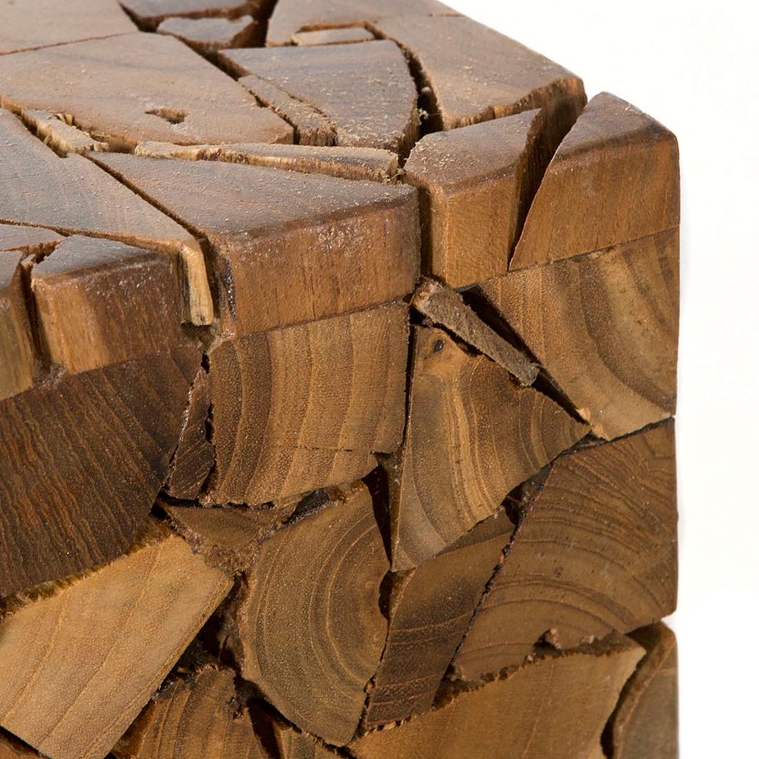 Beistelltisch ALBERNI - Massivholz Teak