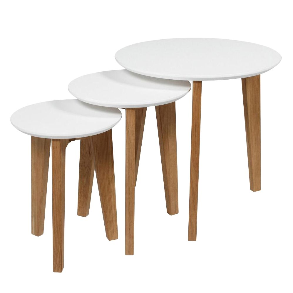 Table d'appoint Albina (lot de 3)