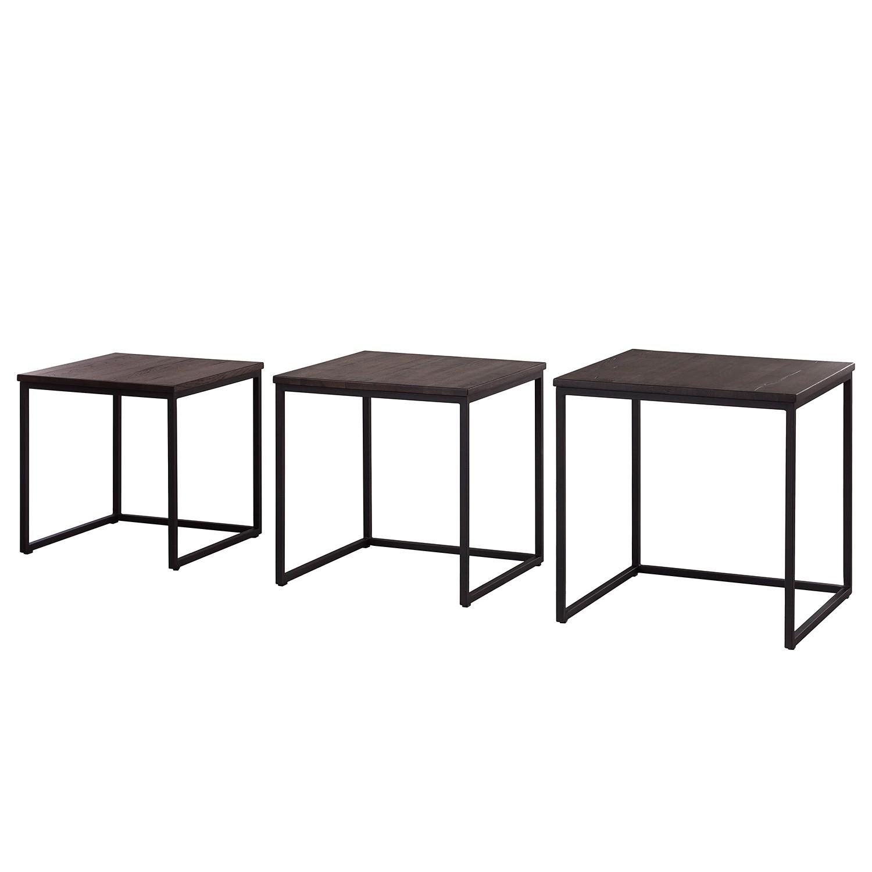 beistelltisch schwarzbraun. Black Bedroom Furniture Sets. Home Design Ideas